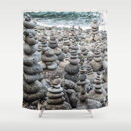 Balancing Rocks Shower Curtain