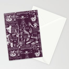 Da Vinci's Anatomy Sketchbook // Blackberry Stationery Cards