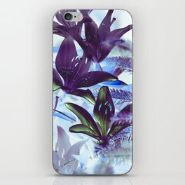Moonlight Lillies iPhone Skin