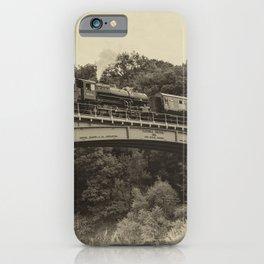 Flying Pig at Victoria Bridge  iPhone Case