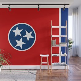 Flag of Tennessee - Authentic High Quality Image Wall Mural