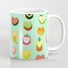 Fruit hearts Coffee Mug
