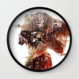 DreamCity2 Wall Clock