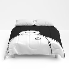 Baymax from Big Hero 6 Comforters