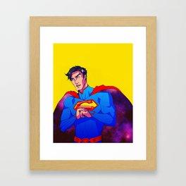 Man from the Stars Framed Art Print