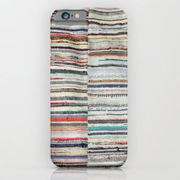 Typical azorean blanket iPhone Case
