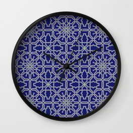 Tiles and geometric patterns Wall Clock