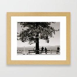 Hangin' out Framed Art Print