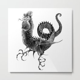 Coquatrix Metal Print