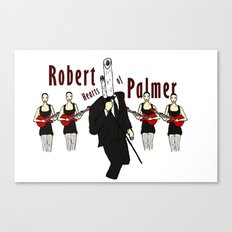 Robert Hearts of Palmer Canvas Print