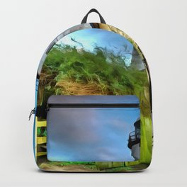 Hale Head Lighthouse (Painting) Backpack