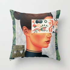 Expressions II Throw Pillow