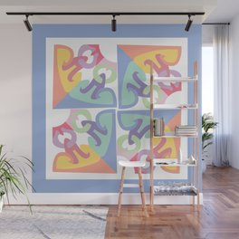 Peace is a Puzzle Wall Mural