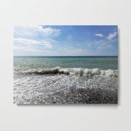 Postcard from the sea (2) Metal Print