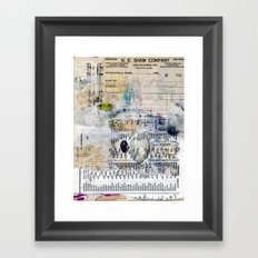 Blind Perfectionist Framed Art Print