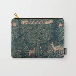 William Morris Greenery Tapestry Carry-All Pouch