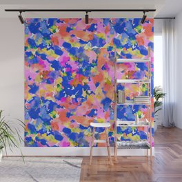 Floral splash Wall Mural