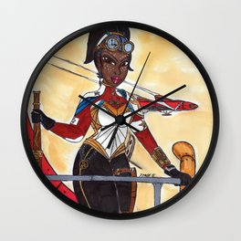 The Lady of The Air Wall Clock
