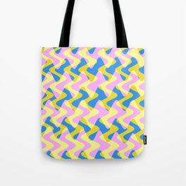 Crosswave Pink - Electron Series 003 Tote Bag