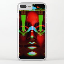 ThreeFaces Clear iPhone Case