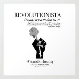 REVOLUTIONISTA Art Print