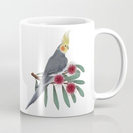 Normal Grey Cockatiel Coffee Mug