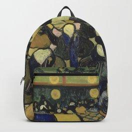 Vincent Van Gogh - The Dance Hall in Arles  Backpack