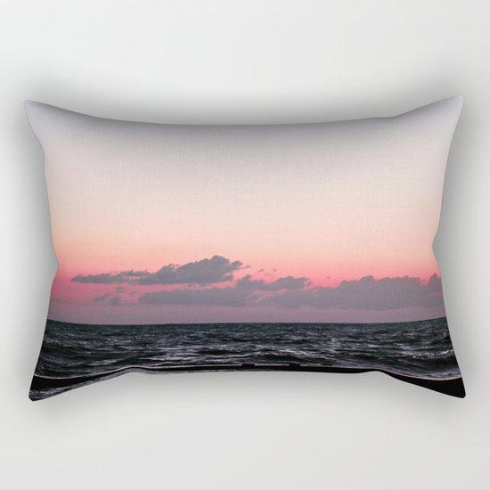 Ocean #sunset Rectangular Pillow