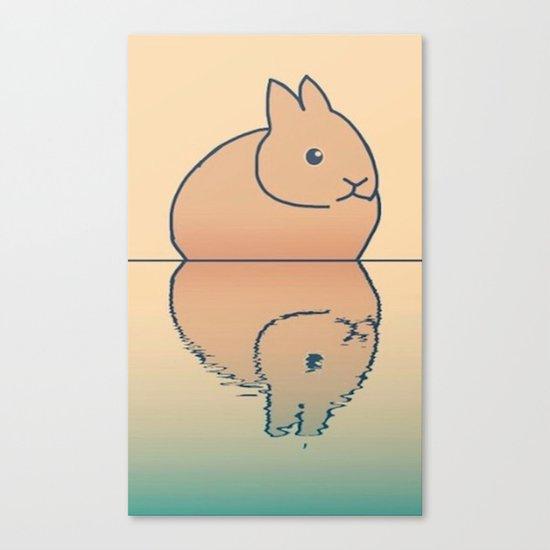 rabbit-74 Canvas Print