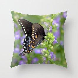 Swallowtail Sunshine Throw Pillow