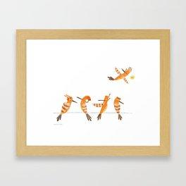 Hi hoopoe! Framed Art Print