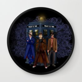 The best regeneration of Doctor who iPhone 4 4s 5 5s 5c, ipod, ipad, pillow case and tshirt Wall Clock