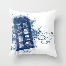 Stories End Throw Pillow