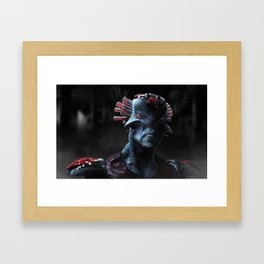 _01_Alien Framed Art Print