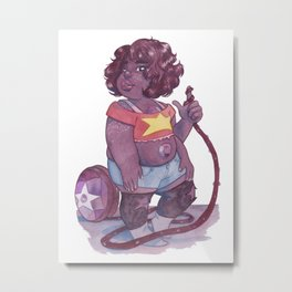 Smoky Quartz Metal Print