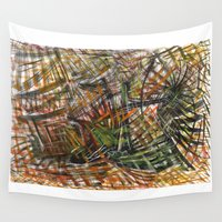 urban Wall Tapestries featuring urban by gasponce