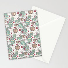 Strange bacterias Stationery Cards