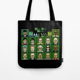 8 Bit Bad Guys Tote Bag