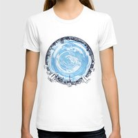 cities T-shirts featuring Paronamic NZ by MARIA BOZINA - PRINT