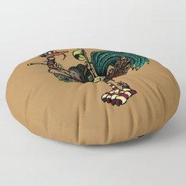 Nature warriors: Scouts Floor Pillow