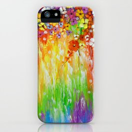 Melody of colors iPhone Case