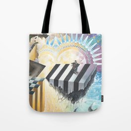 On The Other Side Of Wastelands - Skyward Tote Bag