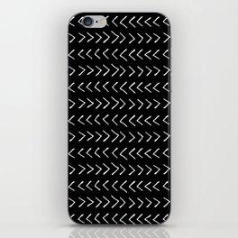Arrows on Black iPhone Skin
