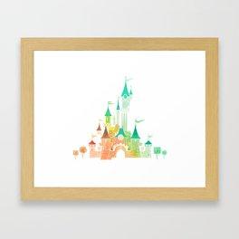 W Castle Framed Art Print