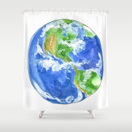 Earthly goodness Shower Curtain