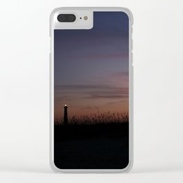 Cape Hatteras Lighthouse at Sunset Clear iPhone Case