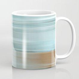 Life (Aqua and Burnt Rose) Coffee Mug