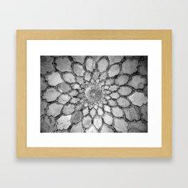 Ivory Carving Framed Art Print