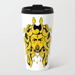 Golden Gorgon Travel Mug