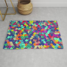 Colorful Geometric Pattern #10 Rug